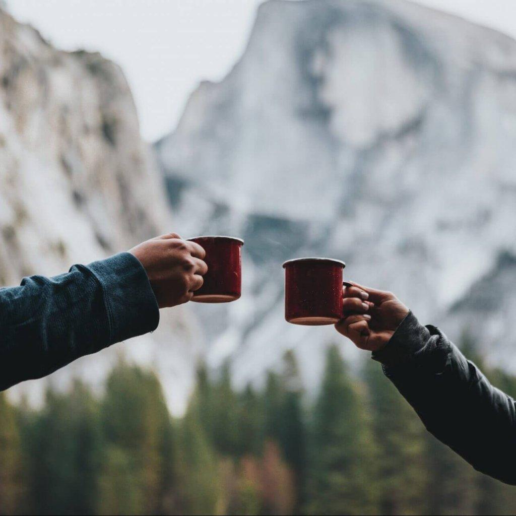 Invite your enemies to tea